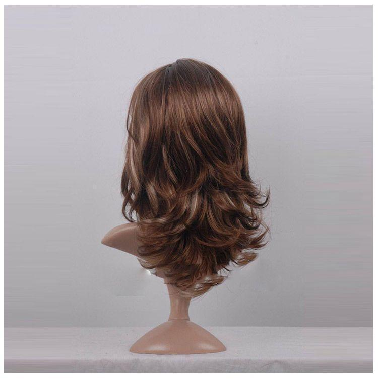 Women Middle Curly Wig