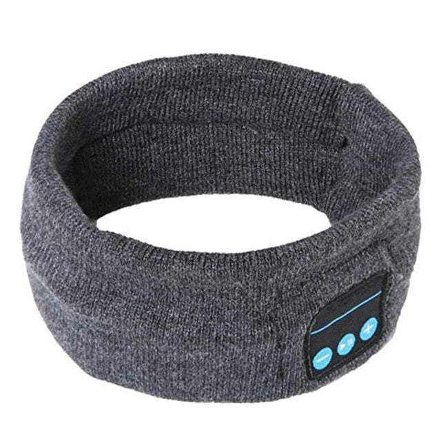 4 Colors Unisex Bluetooth Sports Headband Headphone Music Sleep Blindfold/Free Shipping