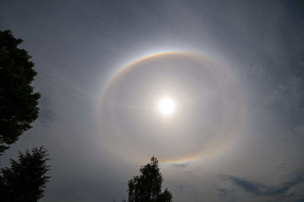 Double Halo with Parhelic ring in Netherlands by Glenn Aoys @thesixthsense4u