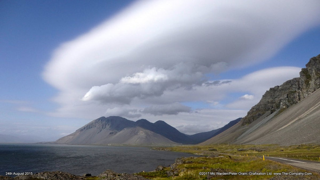 1st Place Eystrahorn overhung by huge lenticular clouds in Iceland by Mo Warden @SilverRainbow