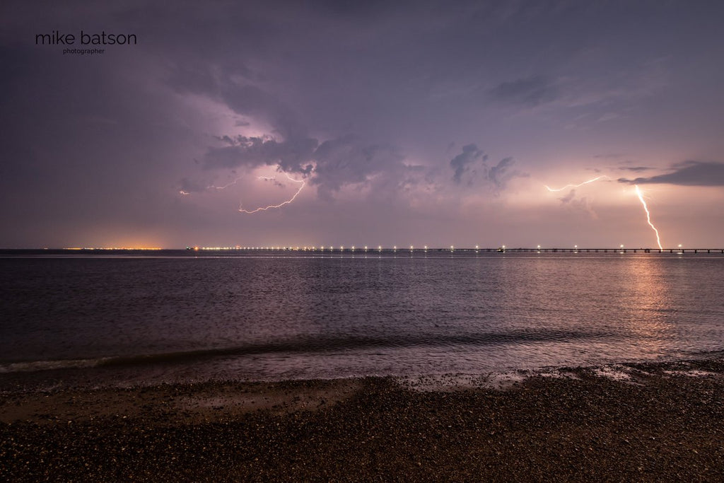 Lightning over Southend Pier by Mike Batson @mikebatson5d