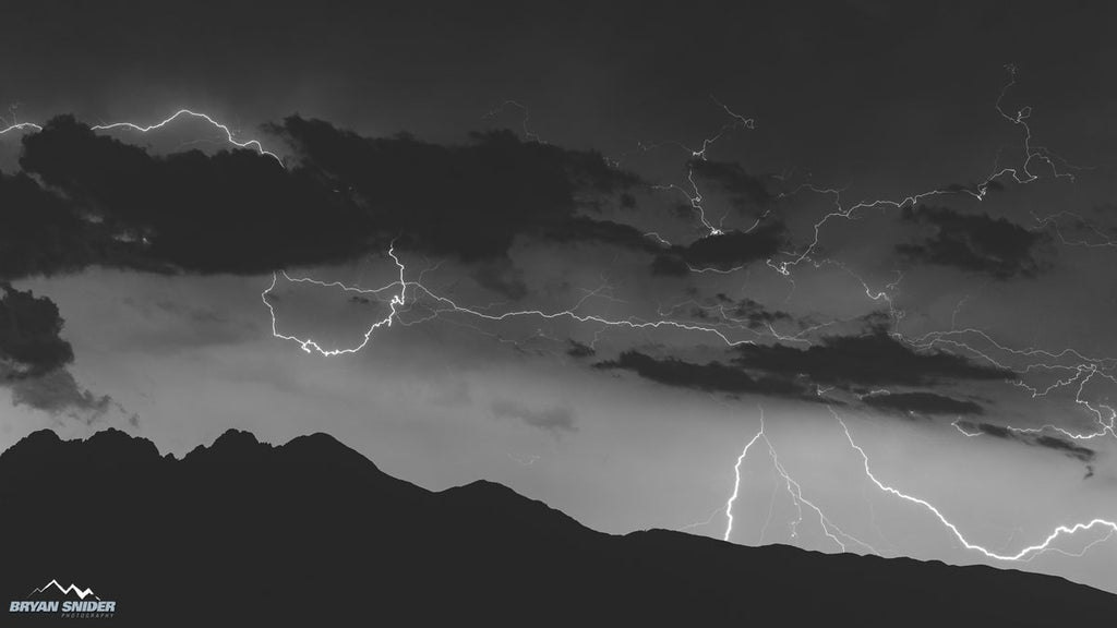 2nd Place Four Peaks and Lightning by Bryan Snider @BryanSnider