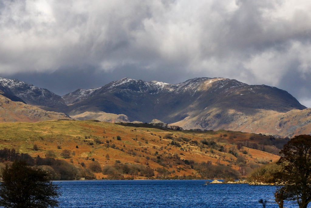 2nd Place Snow on Brim Fell and Wetherlam after StormFreya by Jude@green @JUDITHM58257161