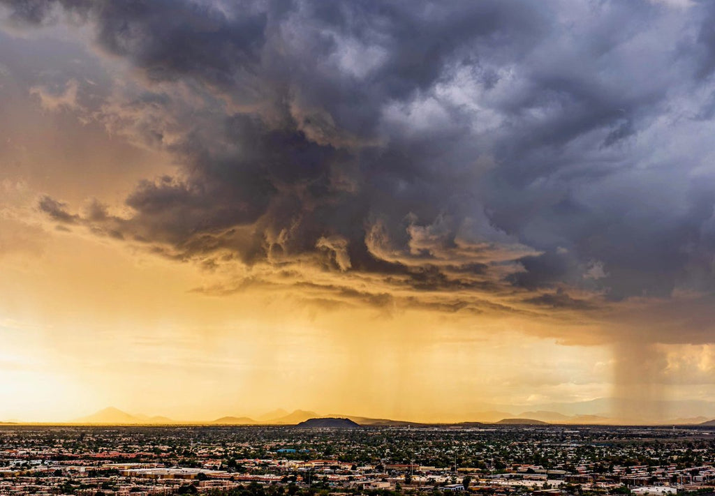 2nd Place Storm over the northwest valley, Phoenix by Kyle Benne @KyleBenne
