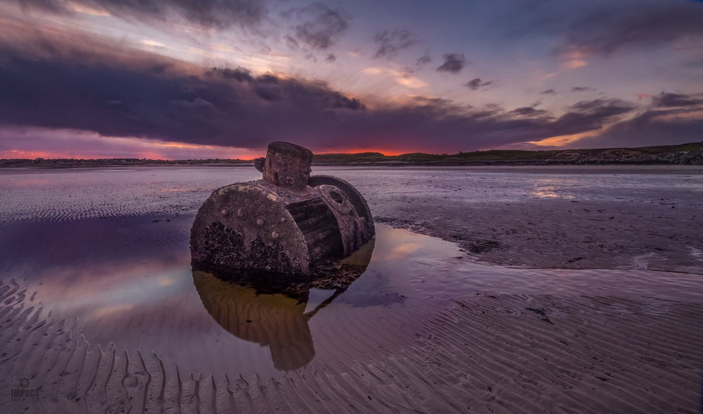 2nd Place The Glenesk on Gress Beach in the gloaming by Impact Imagz @ImpactImagz