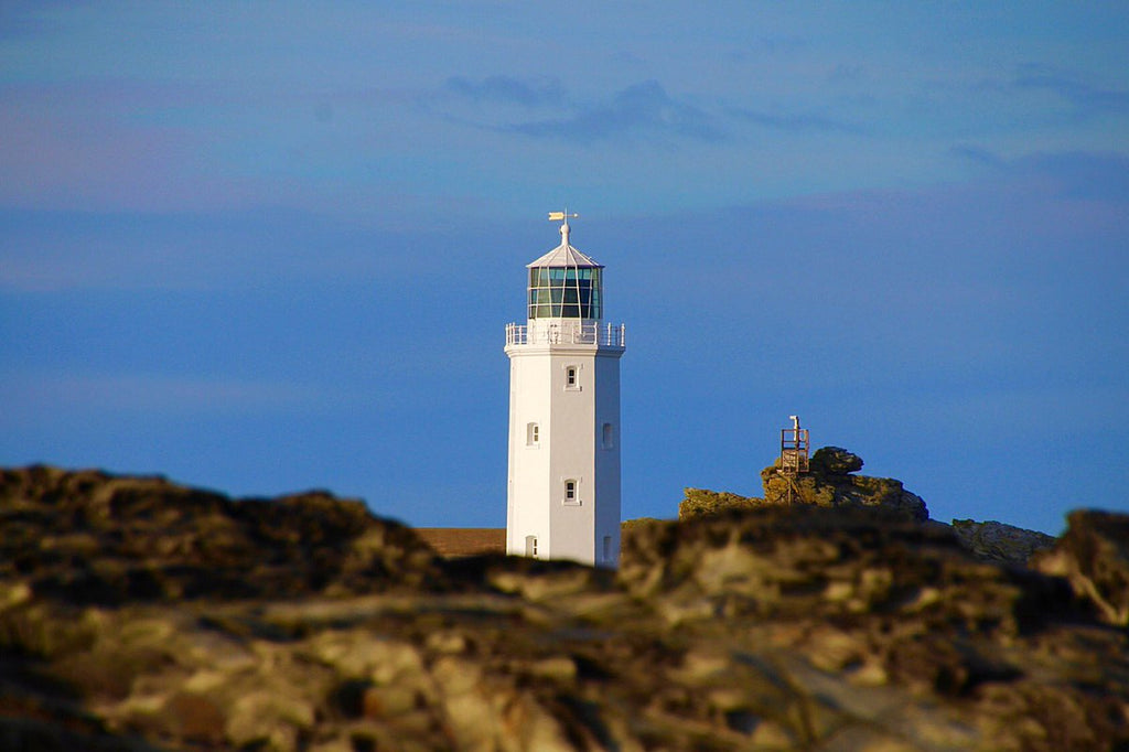 3rd Place Beautiful blue skies of Godrevy Lighthouse by Lisa @BrownieLB_1