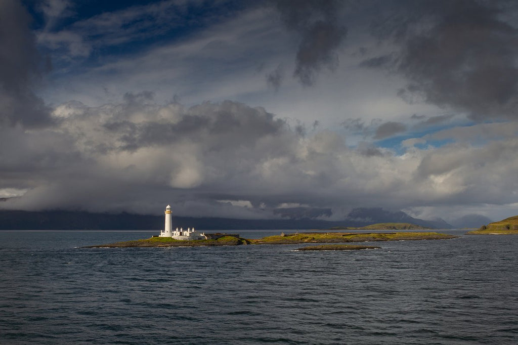3rd Place Eilean Musdile lighthouse just off the coast from Oban, Scotland by J C Cairns @JCCairnsPhotos