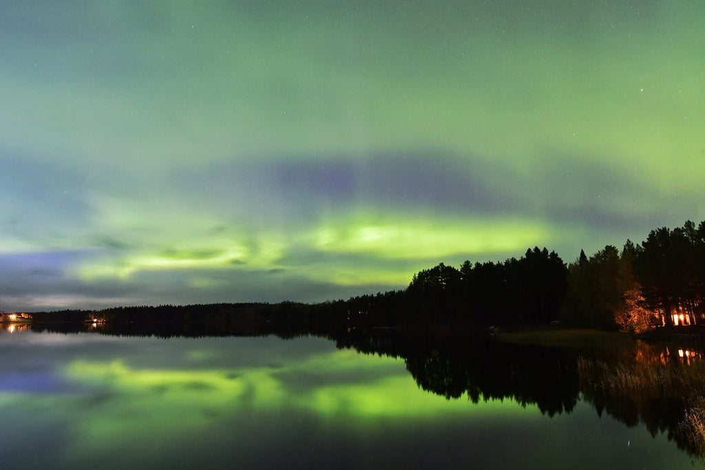 Aurora at 63north Sweden by Tommy Andersson @63northphoto
