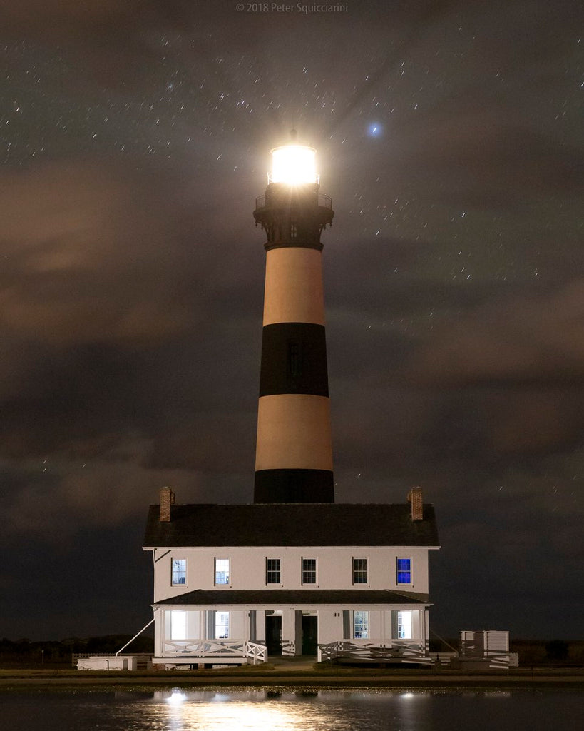 Bodie Island lighthouse by Dark Light Visuals @STREETERPETER