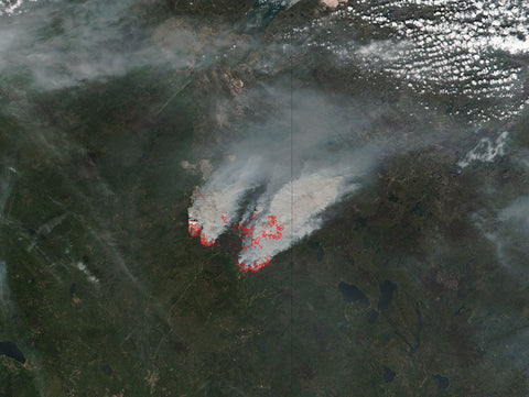 Fort Murray Wildfires