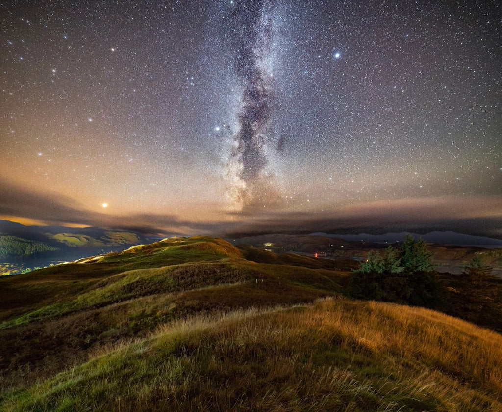Milky Way up on the hills around Oban by Nick @EdgingtonNick