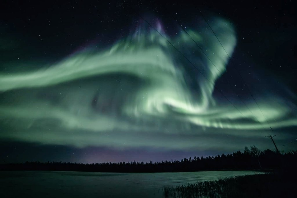 Northern Lights in Lapland by Visit Lapland @OurLapland