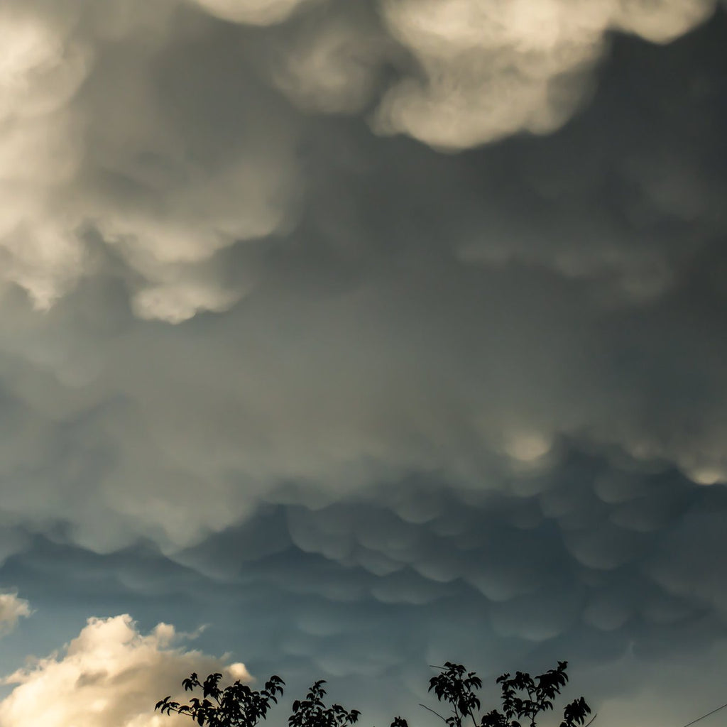 West Texas lumpy skies by MShortes @MShortes