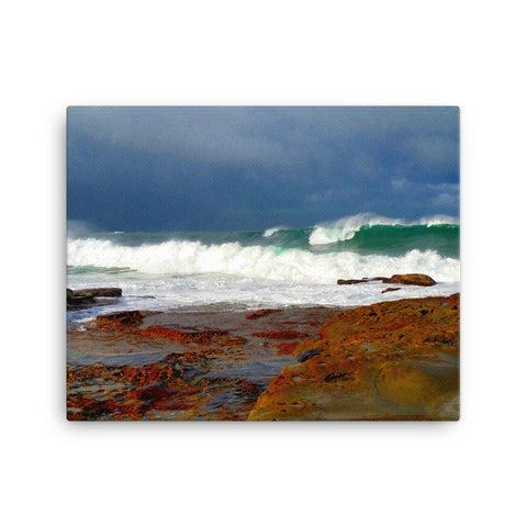 Canvas of Dee Why beach, Sydney.