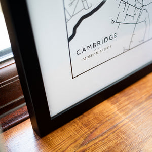 Cambridge Town Map