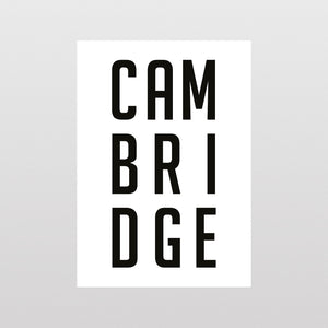 Cambridge BIG Type