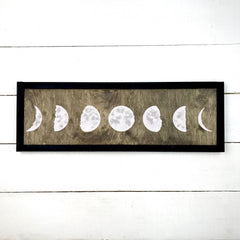 Wood sign | Moons cycle