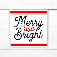 Enseigne bois | Merry and Bright