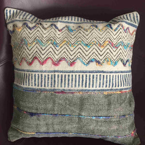 Handblock printed cushion covers
