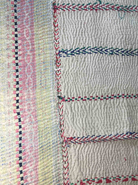 Hand-stitched Cotton Throw