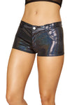 3620 - 1pc Shorts with Front Dummy Pockets, Back Pockets, with Button and Zipper Front Closure