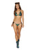 3624 - 2pc Low Rise Tie Side Sequin Bikini Set