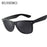 100% Polarized Sunglasses Men Polarized Sunglasses for Men Driving Mirrors Points Black Frame Eyewear Male Sun Glasses UV400