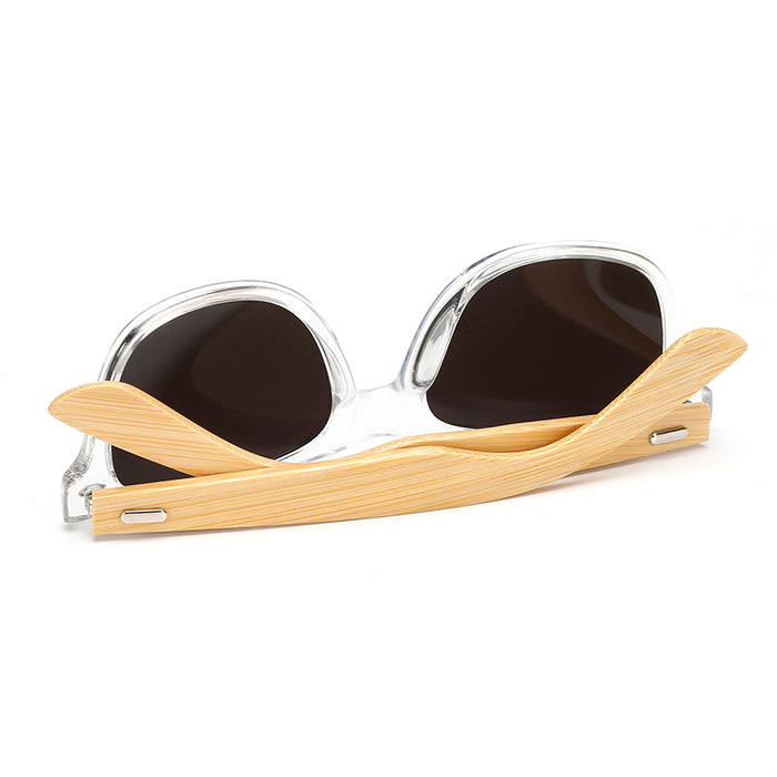 7a6afe01ca 17 color Wood Sunglasses Men women square bamboo Women for women men Mirror  Sun Glasses retro