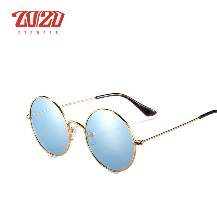20/20 Brand New Unisex Sunglasses Men Polarized Women Vintage Round Metal Glasses Accessories Sun Glasses for Women 17008