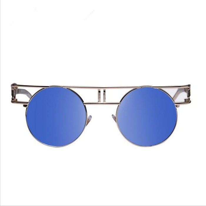 Metal Frame Steampunk Sunglasses Women Brand Designer Unique Men Gothic Sun glasses Vintage Oculos De Sol Feminino 8 Color