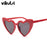 Brand Design Heart-shaped Women Sunglasses Fashion Retro Romantic Shades Lover Cute Sun glasses Female Vintage Gafas De Sol