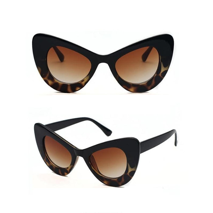 Cat Eye Sunglasses Women Brand Designer Ladies Sun glasses Vintage Sexy Eyewear Shades Sunglasses For Women UV400