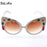 Fashion Baroque Sunglasses Woman Bling Rhinestone Oversized Sunglasses Vintage Shades Ladies Big Sun Glasses Women Eyewear