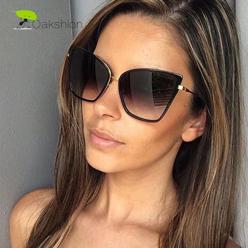 Fashion Sunglasses Women Brand Designer Metal Reflective Mirror Sun Glasses for Women Butterfly Design lunette de soleil