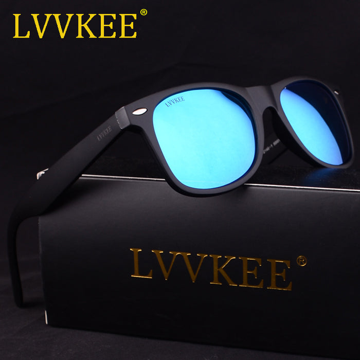New LVVKEE Brand Women Polarized Sunglasses Classic Rivet Travel Sun glasses for Men Oculos Gafas De Sol With Original Case