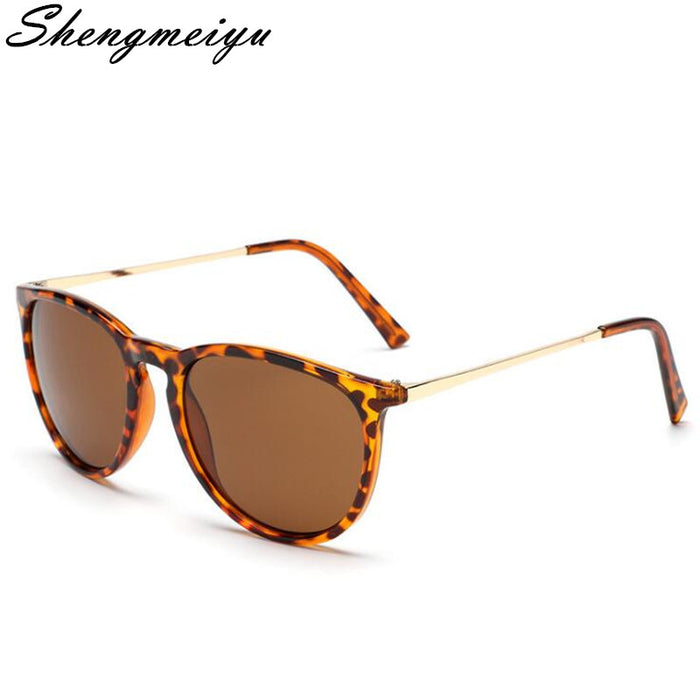 Retro Male Round Sunglasses Women Men Brand Designer Sun Glasses for Women Alloy Mirror Sunglasses Ray Ladies Oculos De Sol