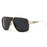 AEVOGUE Men's Sunglasses Newest Vintage Big Frame Goggle Summer Style Brand Design Sun Glasses Oculos De Sol UV400 AE0336