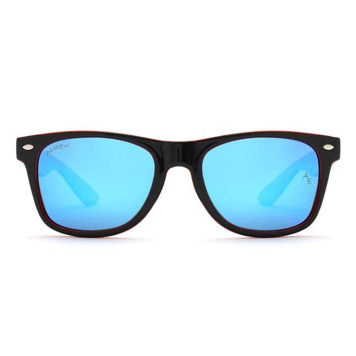 AEVOGUE Polarized Sunglasses Men Thick Acetate Frame Polaroid Lens Summer Style Brand Design Sun Glasses CE UV400 AE0368