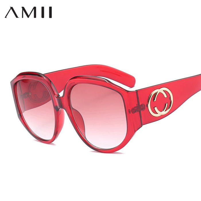 AMII Brand Designer Newest Oversized Square Sunglasses Women Men Luxury Sun Glasses For Female Retro Lunettes de sol