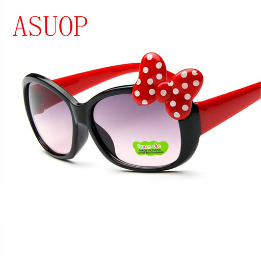 5dace911b358c ASUOP boys and girls cat eye sunglasses 2018 new high-end fashion brand  children s goggles