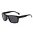 Brand retro Polarized Sunglasses Polaroid Square male Men All Black oversized big sun Glasses for men Women sun glasses