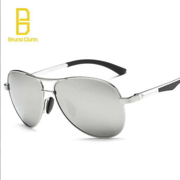 Bruno Dunn Aluminum Polarized Sunglasses Men Brand Luxury designer sun Glasses for ray zonnebril mannen lunette de soleil homme