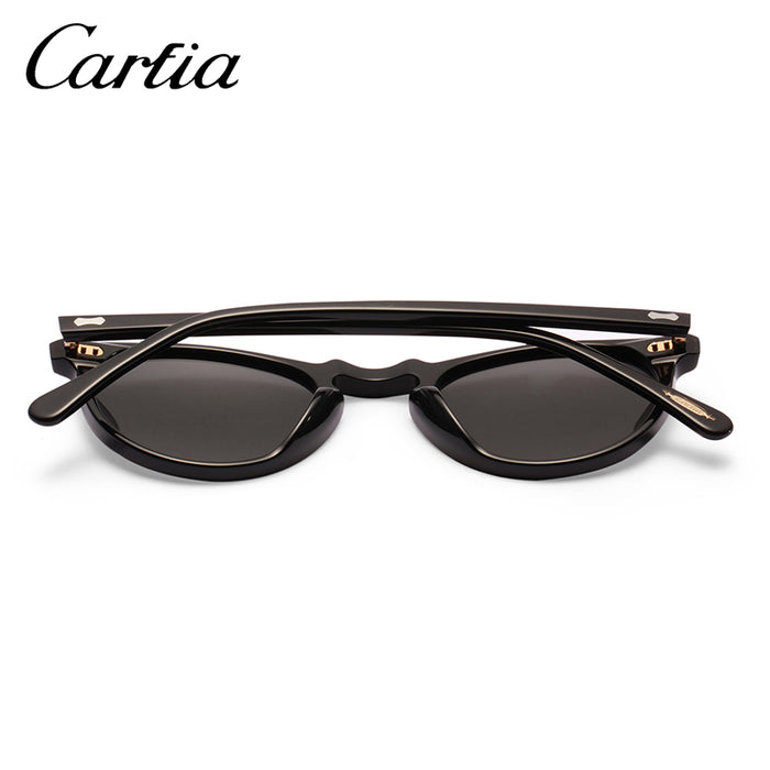 6dc670eb08 Carfia Polarized Sunglasses Classical Brand Designer Gregory Peck Vintage  Sunglasses Men Women Round Sun Glasses 100