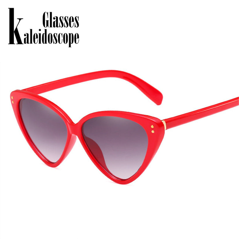 Cat Eye Sunglasses Women Fashion Vintage Sun Glasses Female Full Frame Cateye Style Sunglass Retro UV400