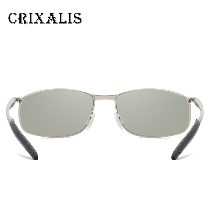 Crixalis Polarized Sunglasses Men Brand Designer Fashion Square Sunglass Male Driver Night vision Sun Glasses For Men CL3360