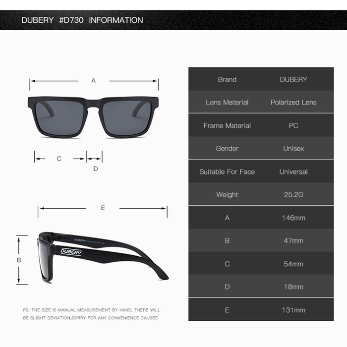 DBUERY Summer Polarized Sunglasses Men's Aviation Driver Shades Male Sun Glasses For Men Clear Cool Luxury Brand Designer Oculos