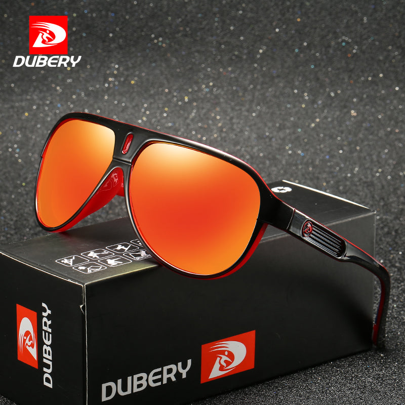 DUBERY Brand Design Polarized Sunglasses Men Driving Shades Male Retro Sun Glasses For Men Summer Mirror Goggle UV400 Oculos