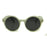 ESNBIE Retro Round Women Sunglasses Vintage oculos de sol feminino UV400 Glasses Eyewear Reflective Women's Shades Sun Glasses
