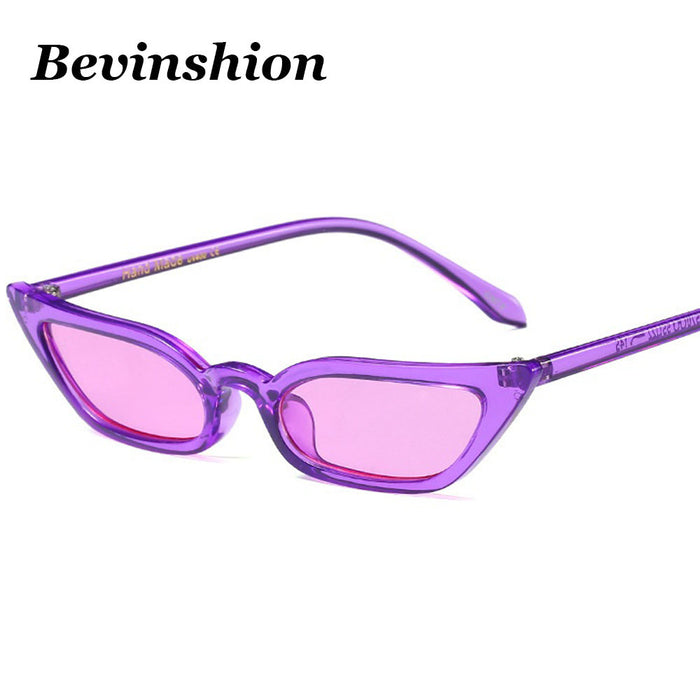Fashion Chic Cat Eye Sun Glasses Female Cool Small Frame Sunglasses Women Brand Sexy Square Gradient Lens Designer Oculos De Sol