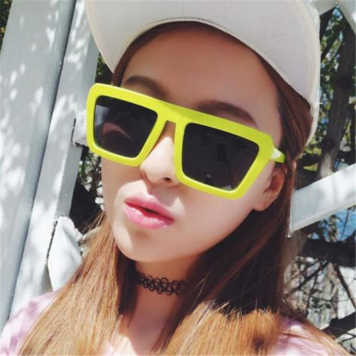 fdfebf030b8 Fashion Classic Square Sunglasses Women Brand Designer Vintage Sun Glasses  For Women Men Female Ladies Sunglass